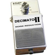 ISP Decimator II Noise Reduction Pedal, New!