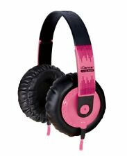 iDance SeDJ800 Headphone - Stereo - Pink, Black - Mini-phone - Wired - 32 Ohm -
