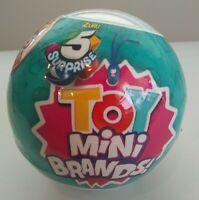 Zuru 5 Surprise Toy Series Mini Brands Ball Capsule - 1 ball   NEW SEALED