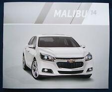 Prospekt brochure 2014 Chevrolet Chevy Malibu (USA)