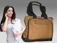 TIMBERLAND T20 Ladies Long Handled Executive Business Laptop Tote BAG Tan