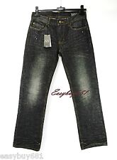 A|X ARMANI EXCHANGE J101BOOT BLACK DISTRESSED JEANS LOW RISE BRAND NEW 31R
