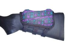 Rifle Cheek Pad / Cheek Riser / CheekRest by ITC Marksmanship / Purple Wet Suit
