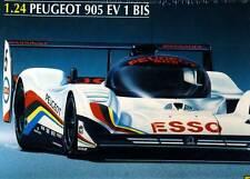 HELLER PEUGEOT 905 Ev 1 jusqu'à 905ev voiture de course ESSO modèle-kit 1:24
