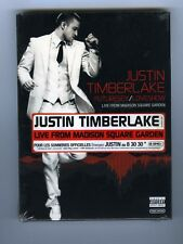 DVD (NEW) JUSTIN TIMBERLAKE FUTURESEX LIVE FROM MADISON SQUARE GARDEN