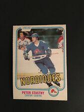 1981-82    OPC  HOCKEY   #269   PETER  STASTNY   (R)     NM+
