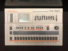 Roland TR-707 Classic Rhythm Composer Groovebox Drum Machine Sequencer Serviced!