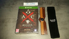 ASSASSIN'S CREED SYNDICATE THE ROOKS EDITION XBOX ONE NEUF VF + BRACELET