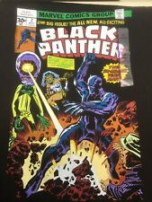 NEW Marvel Black Panther tshirt 1976 Issue #2 Comic cover Size XL