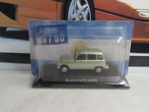 ALTAYA /IXO - 1985 RENAULT 4GTL - MET GREEN - 1/43 SCALE MODEL CAR - ARGENTINA