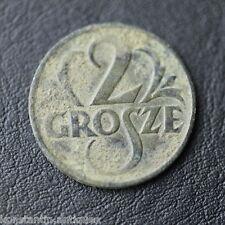 Vintage 1925 coin 2 grosze President Stanisław Wojciechowski of Poland Warsaw