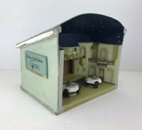 Indiana Roof Ballroom Miniature Replica, Vintage Display Diorama - Handmade Orig