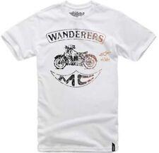New Alpinestars Men's Wanderers Custom Sport White T shirt RALP-435