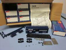 40ft AAR STEEL SIDE BOX CAR - PORT HURON & DETROIT PH&D - 12 PACK - ROUNDHOUSE