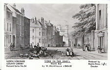 Yorkshire Postcard - York in The 1840's - Monk Bar by Artist W Monkhouse - A5300