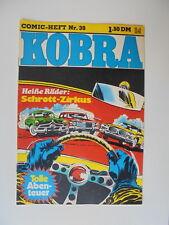 Kobra Comic Heft Nr.39 eingetütet & geboardet Zustand 2