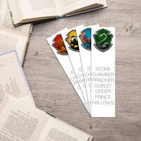 Harry Potter Bookmarks - Gryffindor, Hufflepuff, Ravenclaw, Slytherin