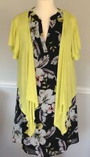 Floral F&F Florence & Fred Shift Dress UK 14 & Roman Cardigan - Complete Outfit