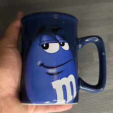 M&M Coffee/Tea Mug Blue M&M Face Official Licensed Product Condition MINT