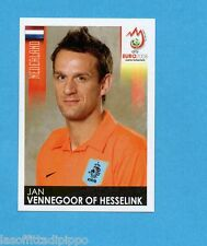 PANINI-EURO 2008-Figurina n.275- VENNEGOOR OF HESSELINK - OLANDA -NEW BLACK
