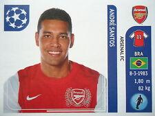 Panini 351 Andre Santos Arsenal FC UEFA CL 2011/12