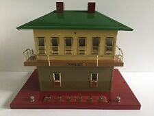 MTH Tinplate Traditions 10-1124 Standard Gauge Switch Tower, in Original Box