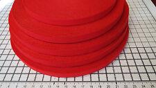 3m -Red, Flat, Soft, Elastic , Bra Strap. Width - 10mm