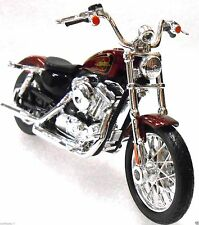 Harley-Davidson Motorcycle 2012 XL 1200V Seventy-Two 72 Bike Toy 1:18 Scale