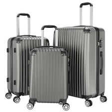 NEW 3Pcs Travel Luggage Sets Large Business Suitcase Trolley W/ TSA Customs Lock