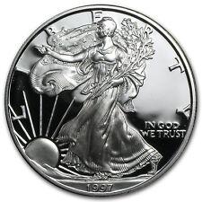1997-P 1 oz Proof Silver American Eagle (w/Box & COA) - SKU #1065