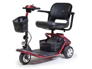 Golden Technologies LiteRider 3 Wheel Power Scooter! Brand New 300lb Cap! GL111D