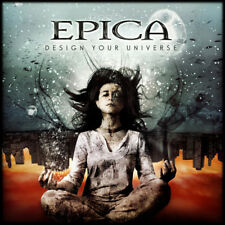 EPICA - DESIGN YOUR UNIVERSE - 2LP CLEAR VINYL NEW SEALED REISSUE 2017