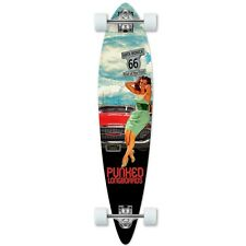 Yocaher Pintail Longboard Complete - Route 66 Series - RTE-66