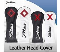 New Titleist Genuine Golf Club Head Cover Driver,Fairway,Hybrid,Club Protection
