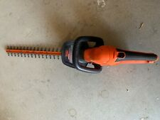 Black & Decker Ht22 Hedge Electric Trimmer 22 Inch Trim Dual Action Steel Blades