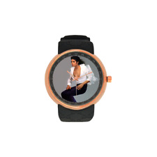 Rose Gold Michael Jackson Dancing Watch Luxury Quality Scratch and Water Proof