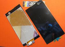 DISPLAY LCD +TOUCH SCREEN per SONY XPERIA C3 D2533 RICAMBIO VETRO VETRINO NERO
