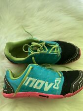 Inov-8 Bare XF 210 Running Shoes Blue Pink Mens Size 7 WOMEN SIZE 8.5 Preowned