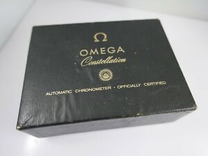 Omega constellation watch box case papers vintage used