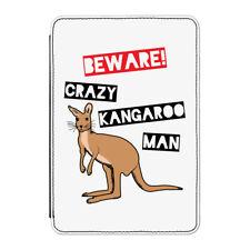 Cuidado Crazy CANGURO Man Funda para Kindle Paperwhite - Divertido Australia