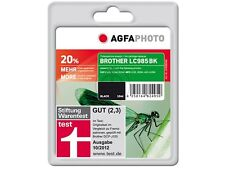 AGFA PHOTO Brother LC-985 B BK NERO MFC J-220 265W 410 415 W
