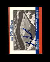 Lee Smith Hand Signed 1988 Fleer Team Stickers Chicago Cubs Autograph