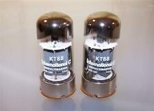 2 vintage NOS Sylvania 6550A tubes   -tested - matched-   6550