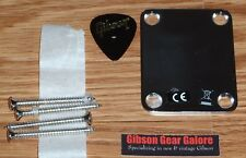 Fender Geddy Lee Jazz Signature Bass Neck Plate Chrome Guitar Parts Project J