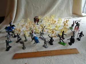 Mixed fantasy lot.  Demon King, skeletons, knights, Britains Deetail, others.
