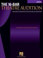 The 16-Bar Theatre Audition Soprano Soprano Edition Vocal Collection 000740253