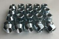 """20 x 1/2"""" UNF, 19mm Hex Open Alloy Wheel Nuts (Zinc)"""
