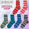 """100g Schöller + Stahl Fortissima 4-fach """" Creativ Color """" Sockenwolle stricken"""