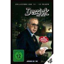 DERRICK - DERRICK COLLECTOR'S BOX 14 (/EP.196-210) 5 DVD HORST TAPPERT NEU +++