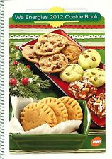 2012 Christmas Cookie Cookbook Wisconsin Electric Company Grandma's Favorite